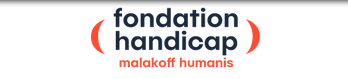 Logo fondation handicap malakoff humanis